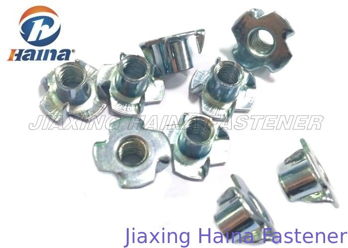 Plain Finish Zinc Plated Tee Stainless Steel Nuts Four Claws Nut 731816 HS Code